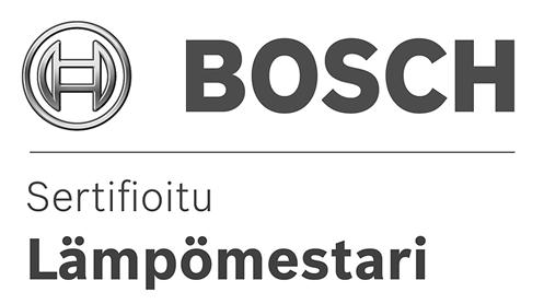 Bosch - Sertifioitu lämpömestari